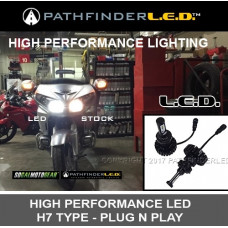 Add On Accessories G18H7P G18H7P GL1800/F6B LED HIGH OR LOW BEAM HEADLIGHT KIT (PR)