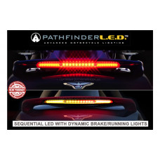 Add On Accessories SPL2012 - GL1800 12 & UP SEQUENTIAL LED SPOILER LIGHT W/DYNAMIC B&R