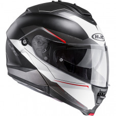 Casque HJC IS-Max 2 Magma  Noir / Blanc / Rouge