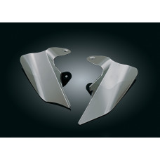 kuryakyn 1188 - SADDLE SHIELDS, REFLECTIVE SMOKE FOR '97-'07 TOURING, REFLECTIVE SMOKE